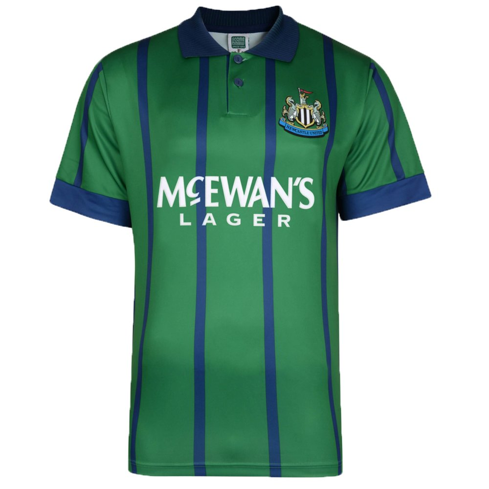 Newcastle United 1995 Away Retro Football Shirt