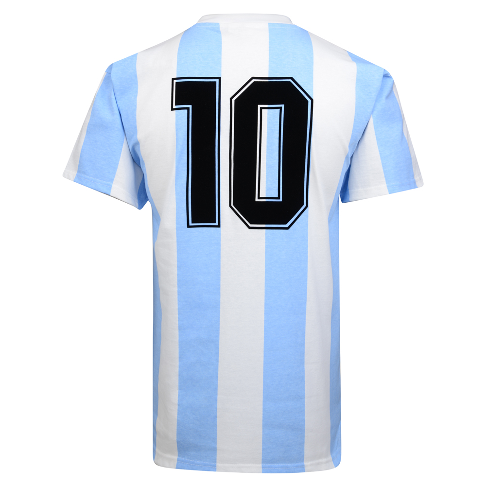 Argentina 1986 World Cup Final No10 shirt