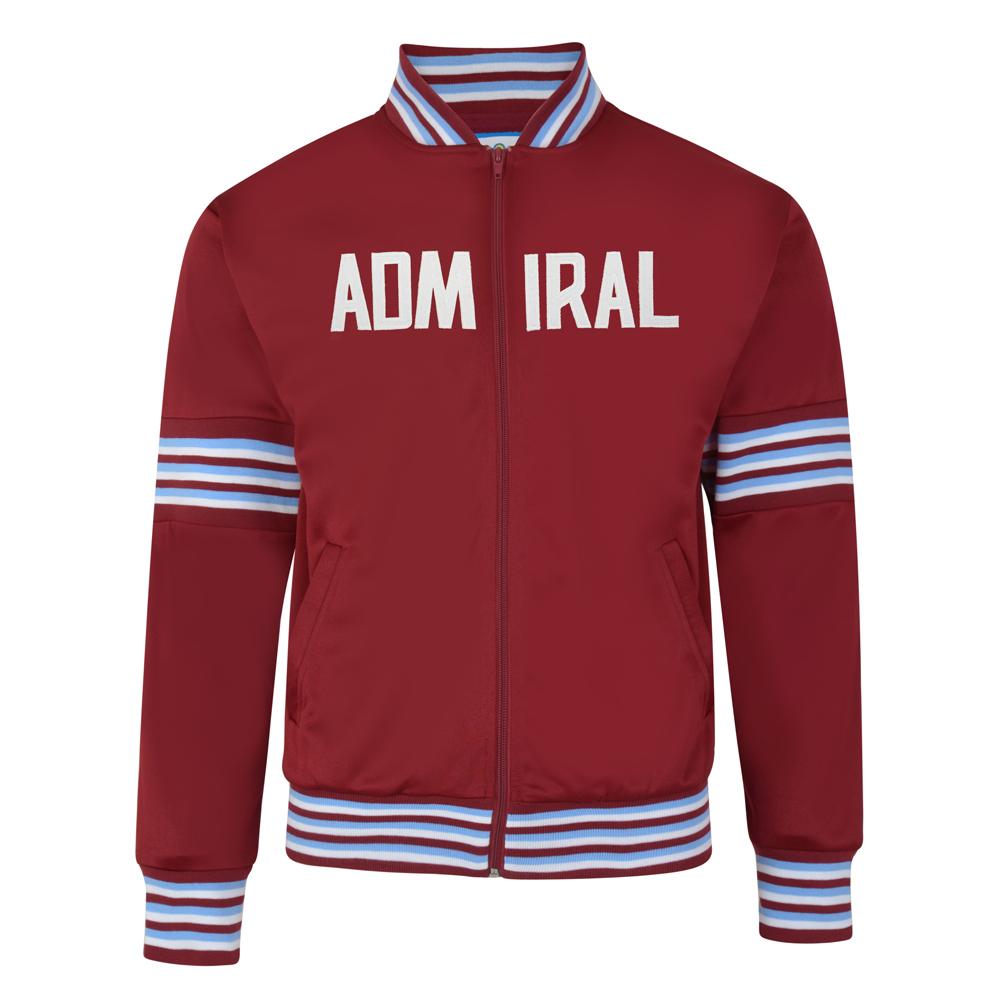Admiral 1974 Claret Club Track Jacket
