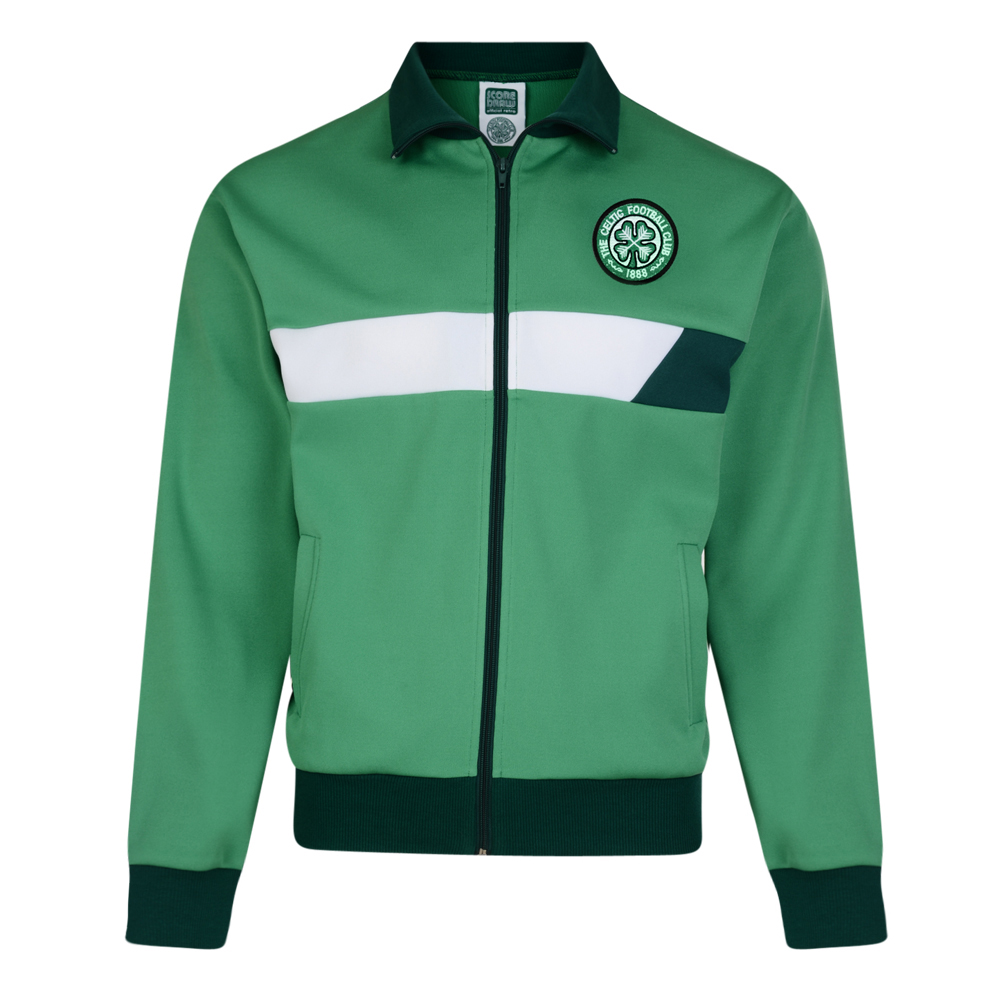 Celtic 1986 Track Retro Track Jacket