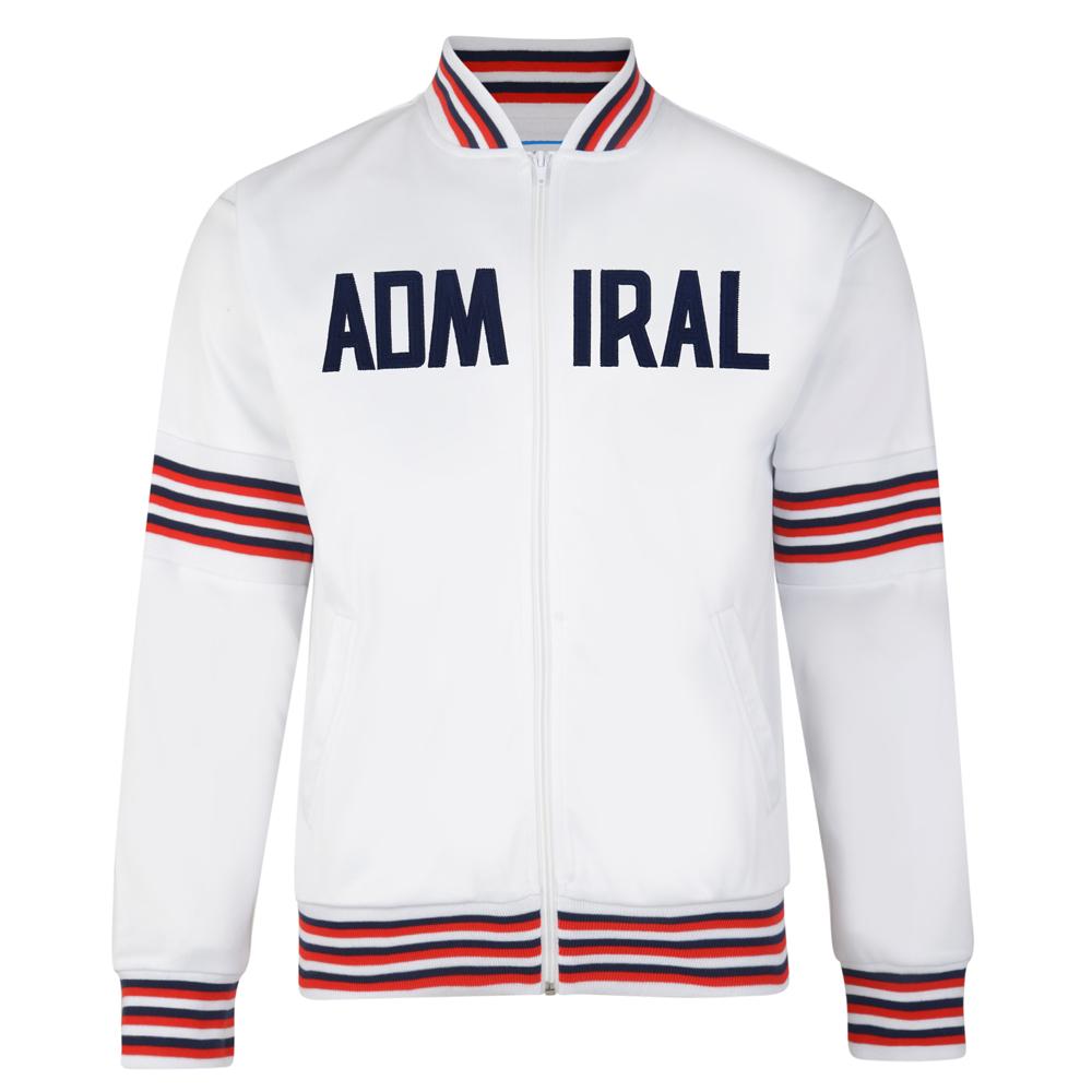 Admiral 1974 White England Track Jacket