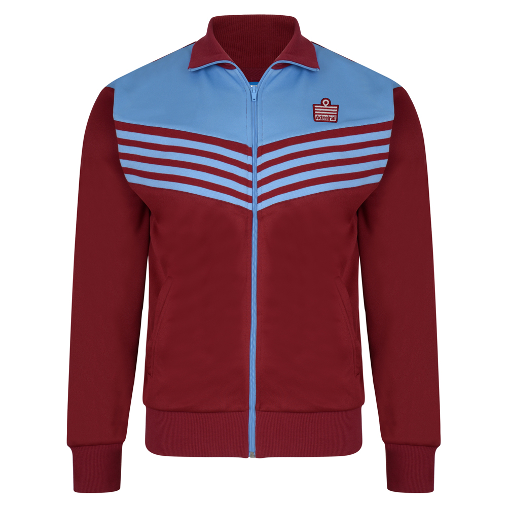 Admiral 1976 Claret Club Track Jacket