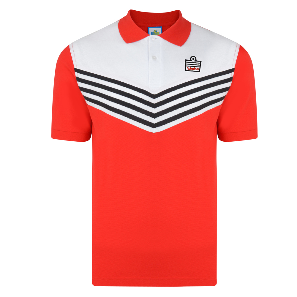 67cdd0ec2 Buy Admiral 1976 Red Club Polo | Admiral 1976 Red Club Polo Shirt | Admiral  Club Polo Shirt | 3 Retro
