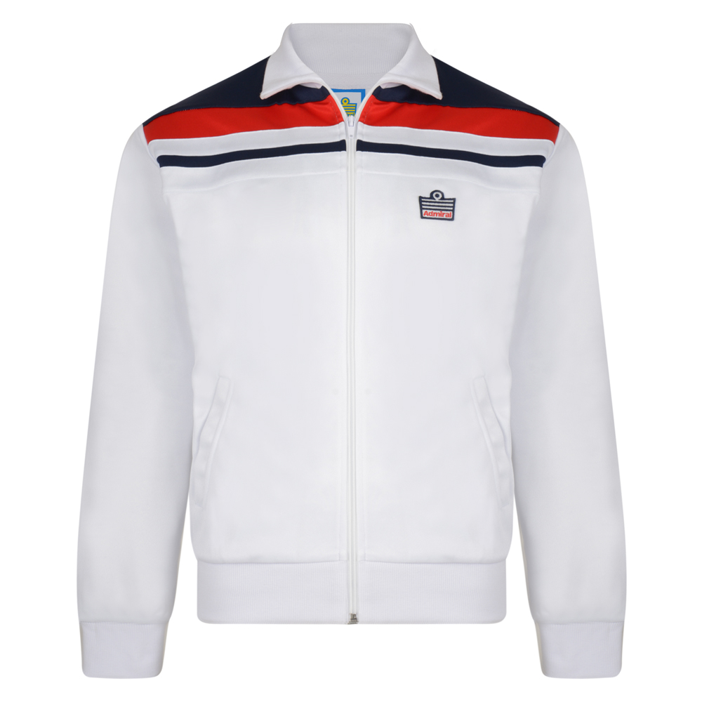 f04c12604 Buy Admiral 1982 White England Track Jacket