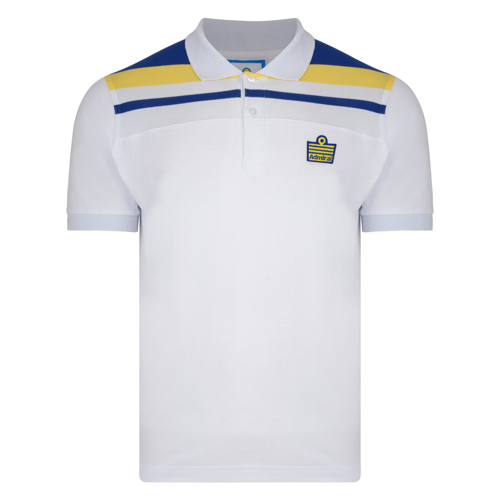Admiral 1982 White Club Polo