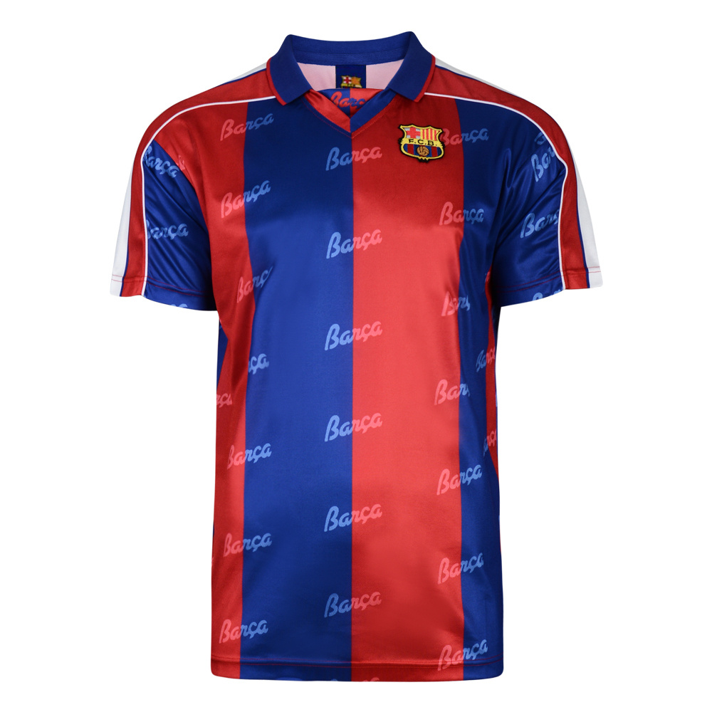 Barcelona 1994 Retro Football Shirt