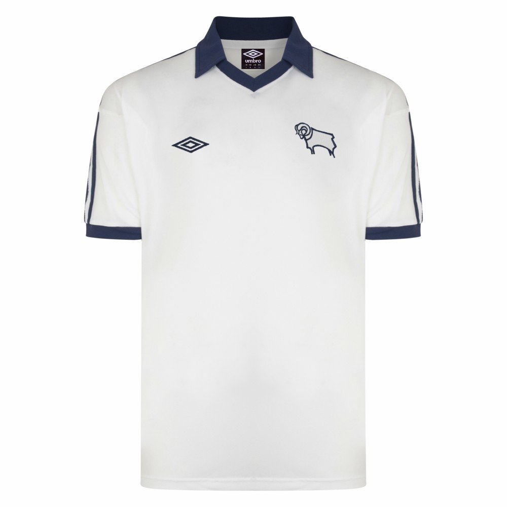 Derby County Retrô  camisa