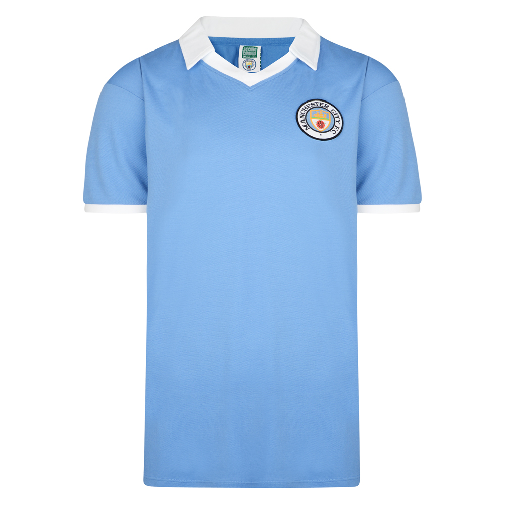Manchester City 1978 Retro Football Shirt