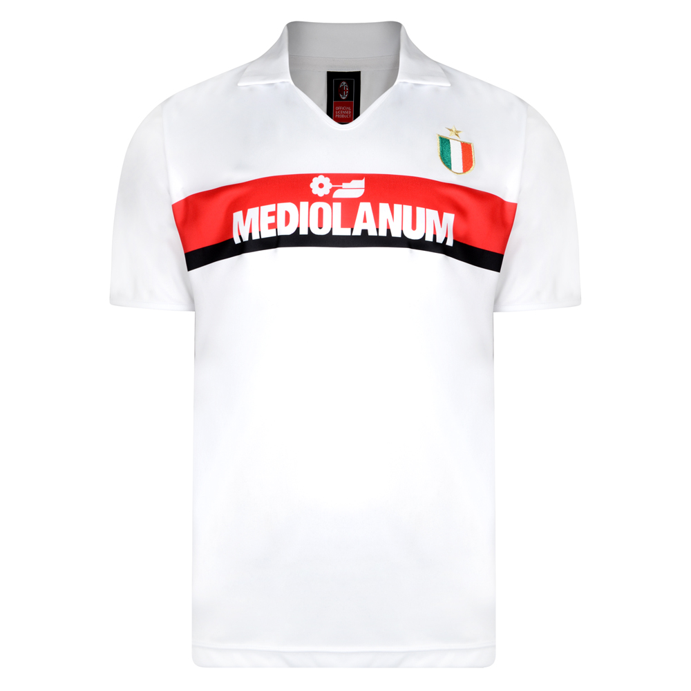 AC Milan 1988 Away Retro Football Shirt