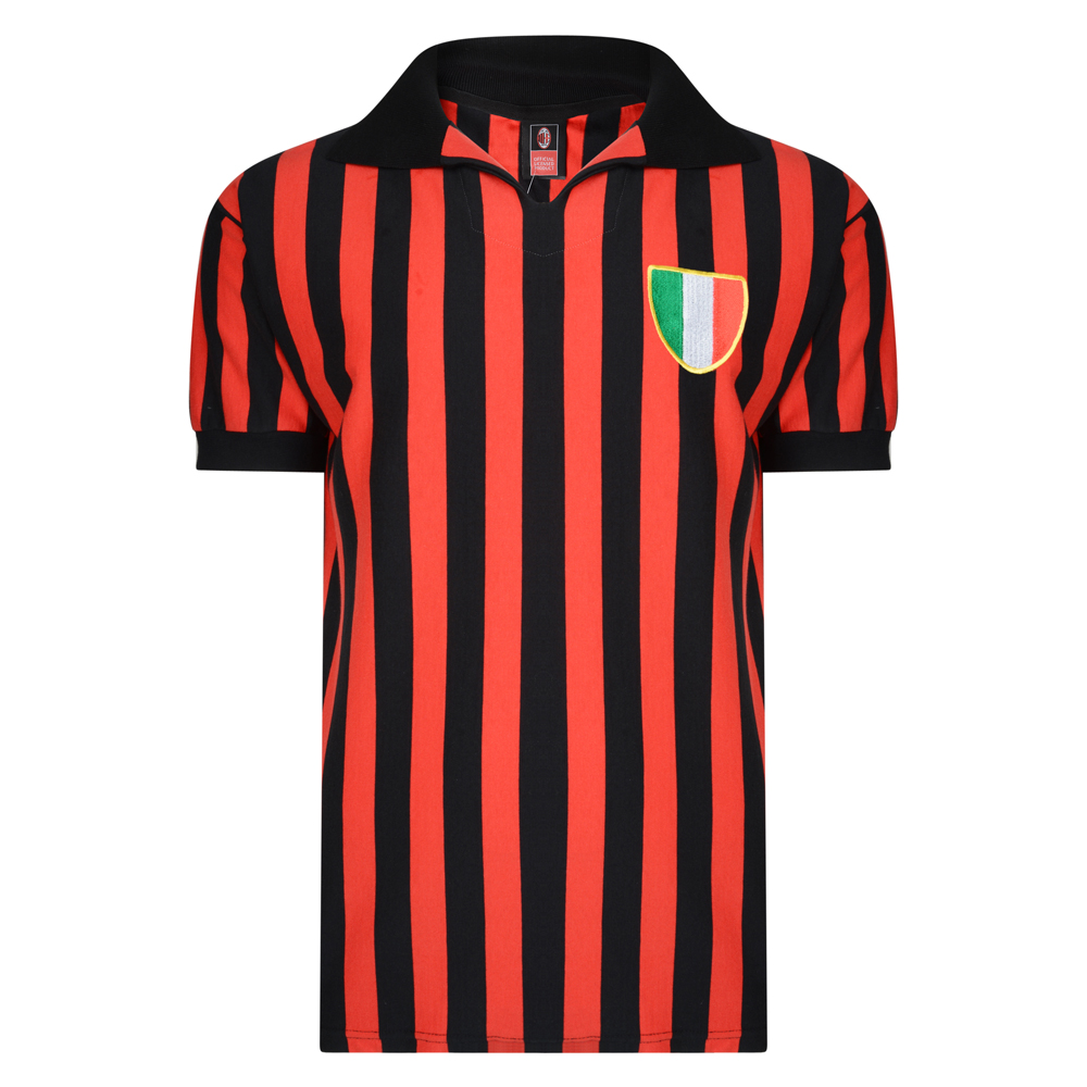 AC Milan 1963 Retro Football Shirt