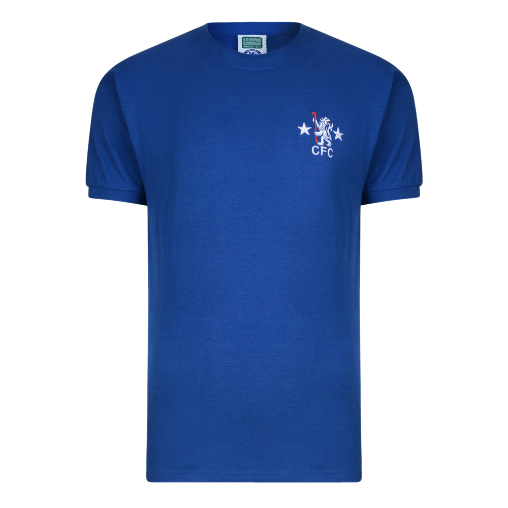 Chelsea 1972 No9 Retro Football Shirt