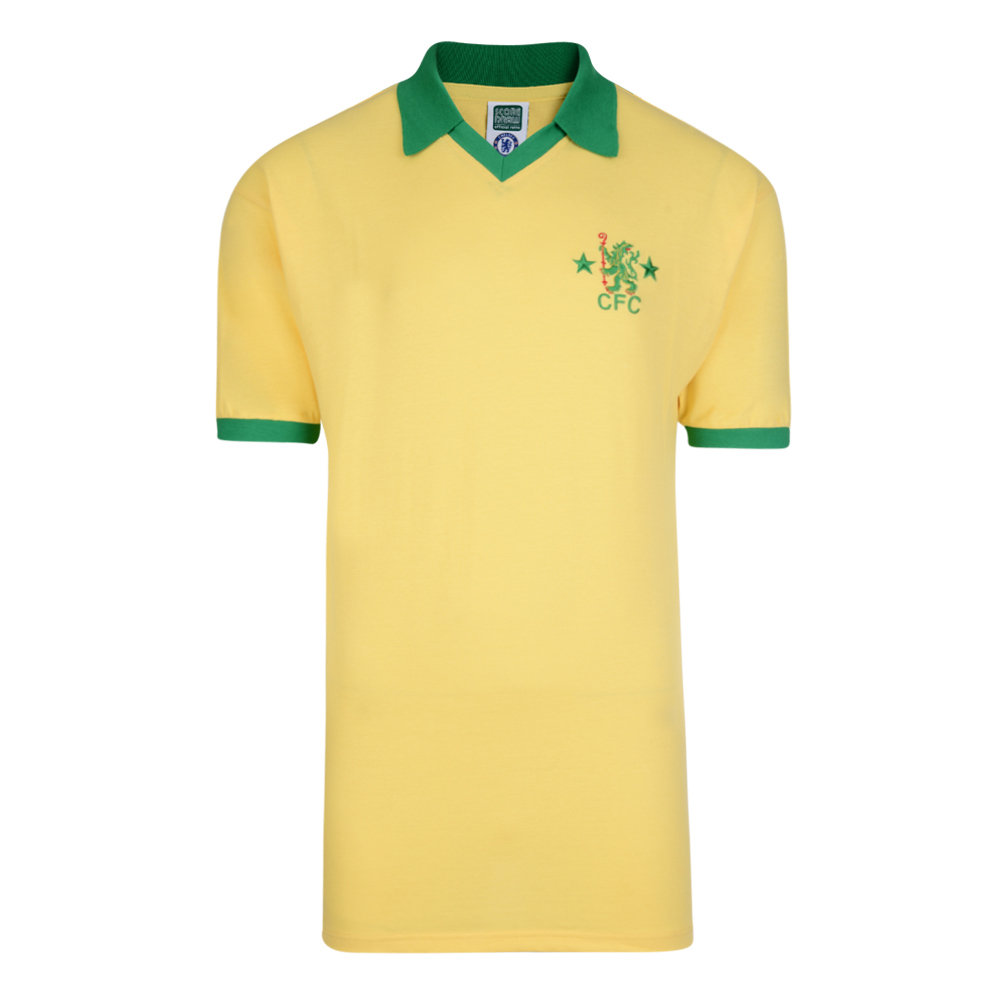Chelsea 1980 Retro Football Away Shirt