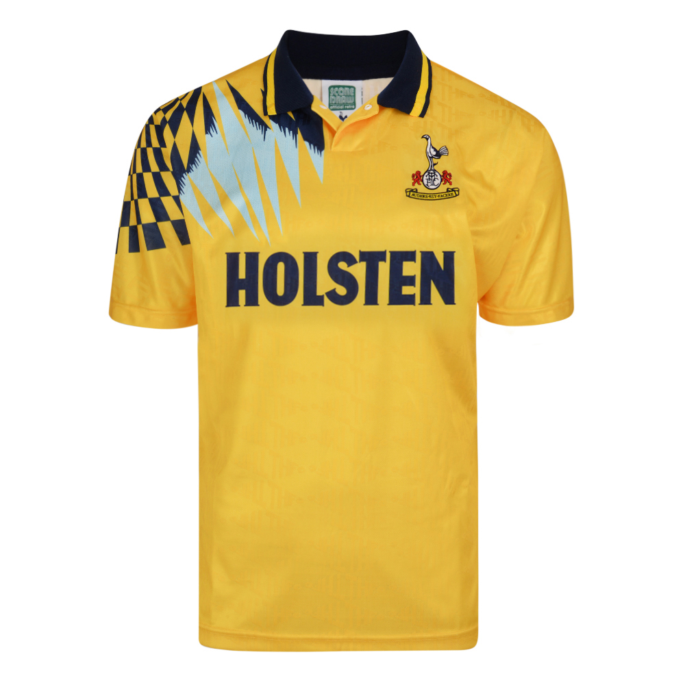 Tottenham Hotspur 1992 Away Retro Football Shirt