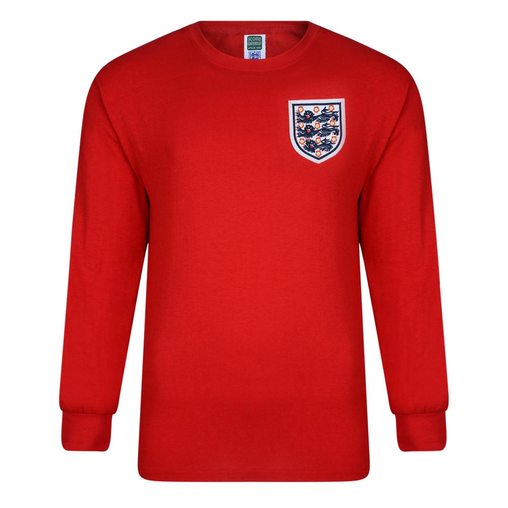 England 1966 World Cup Final Away Retro Shirt