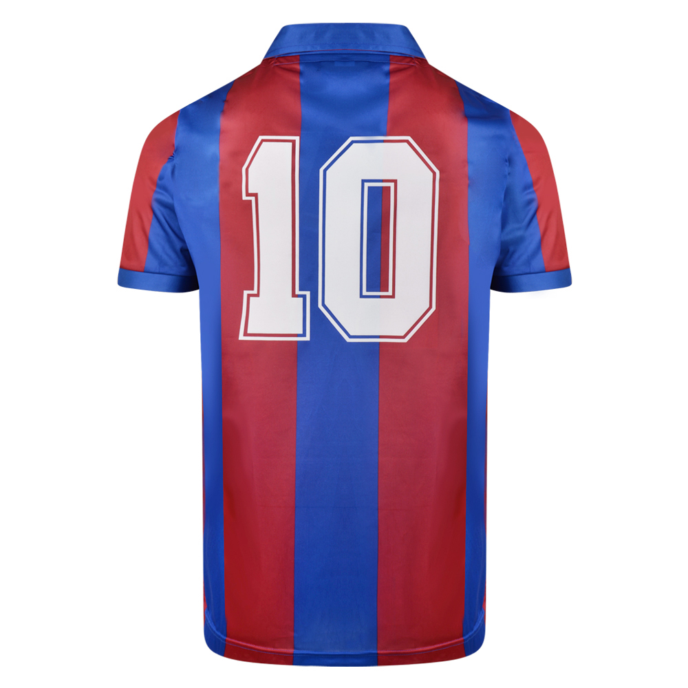Barcelona 1982 No10 Retro Football Shirt