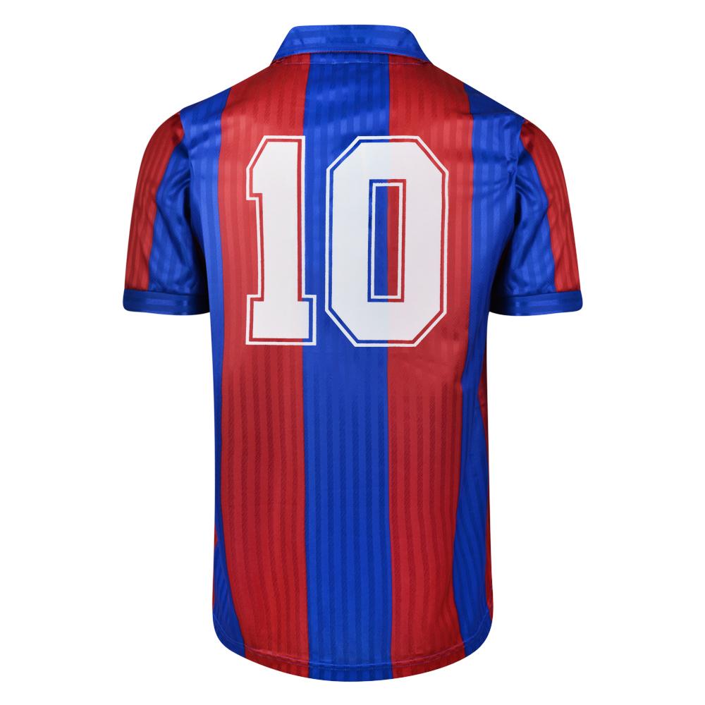 bd60acf59bdc Barcelona 1992 No.10 Retro Football Shirt 3RETRO Retro Replica shirt from  3Retro Football