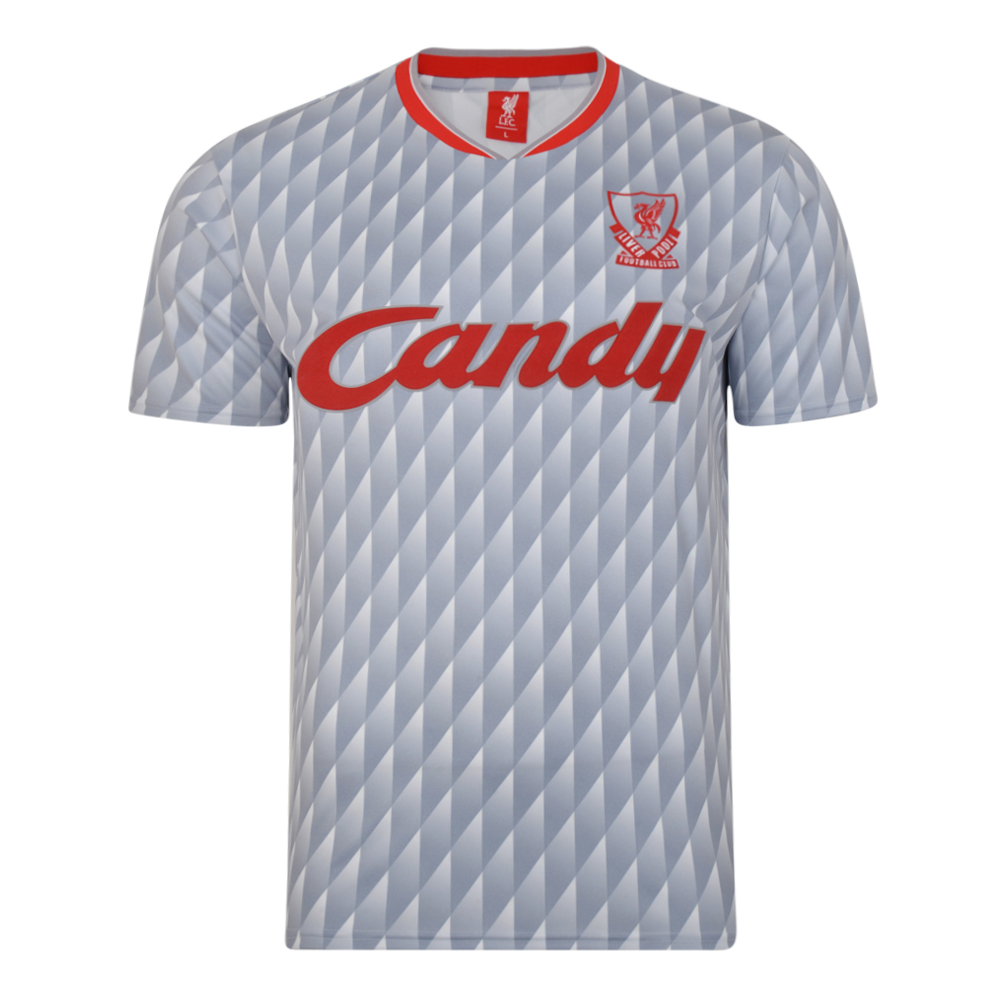 Liverpool FC 1990 Away Retro Football Shirt