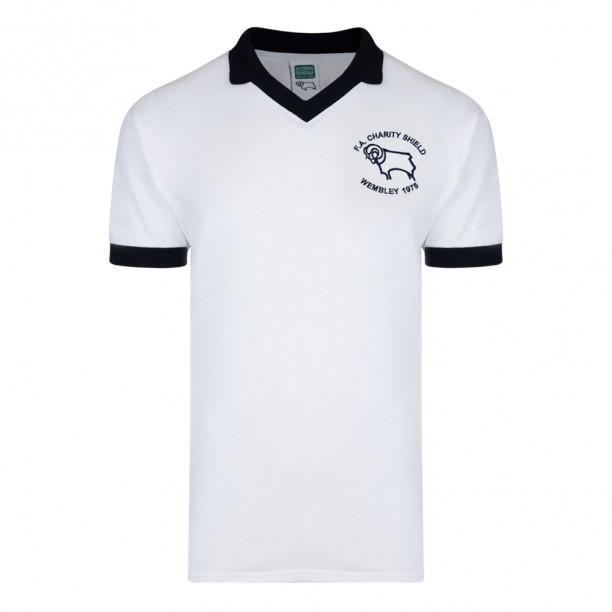 Derby County 1975 Charity Shield Retro Shirt