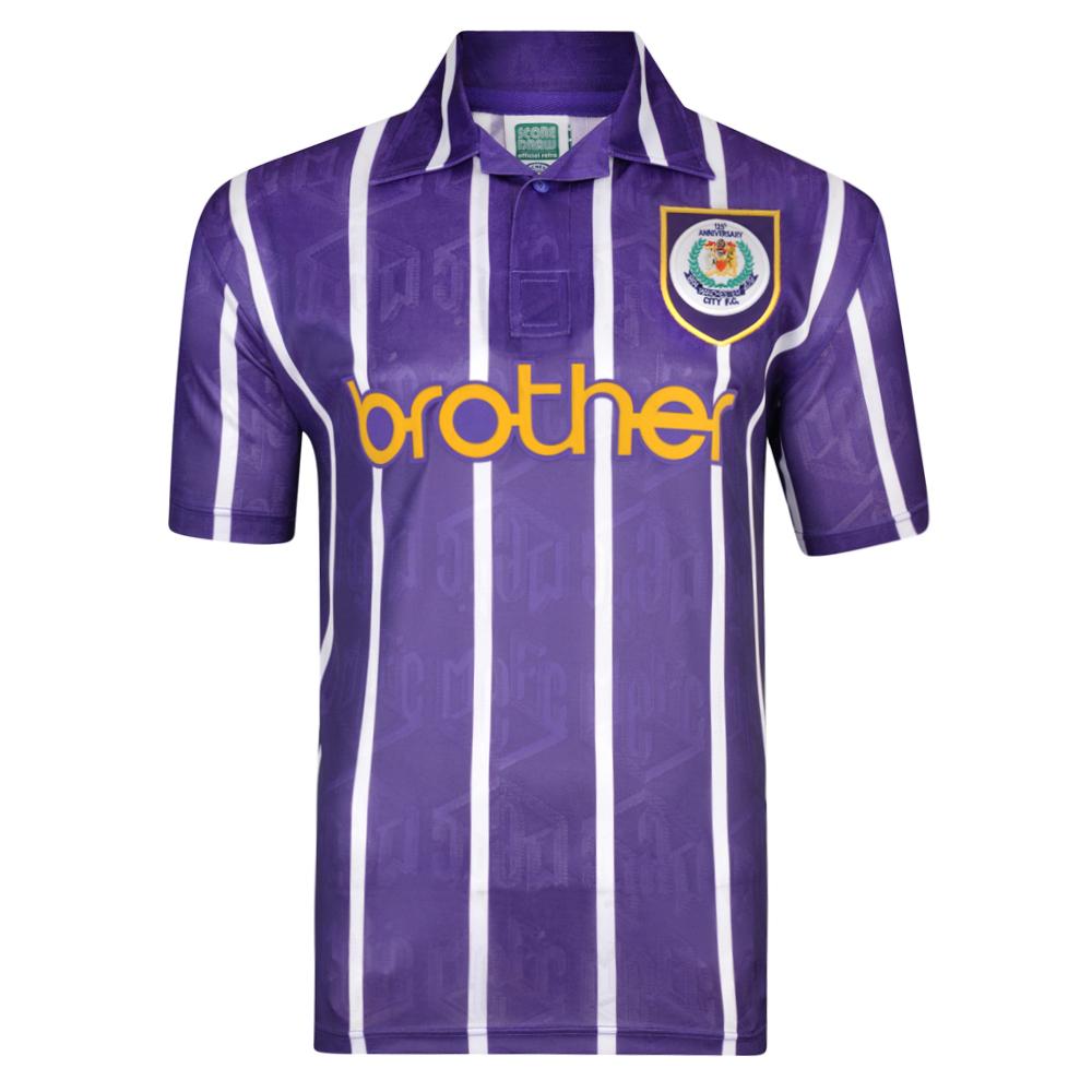Retro Manchester City Shirt