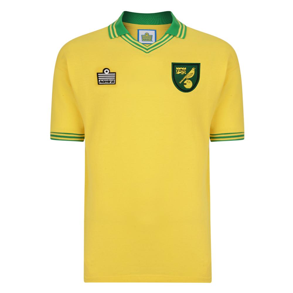 Norwich City 1978 Admiral Retro Football Shirt