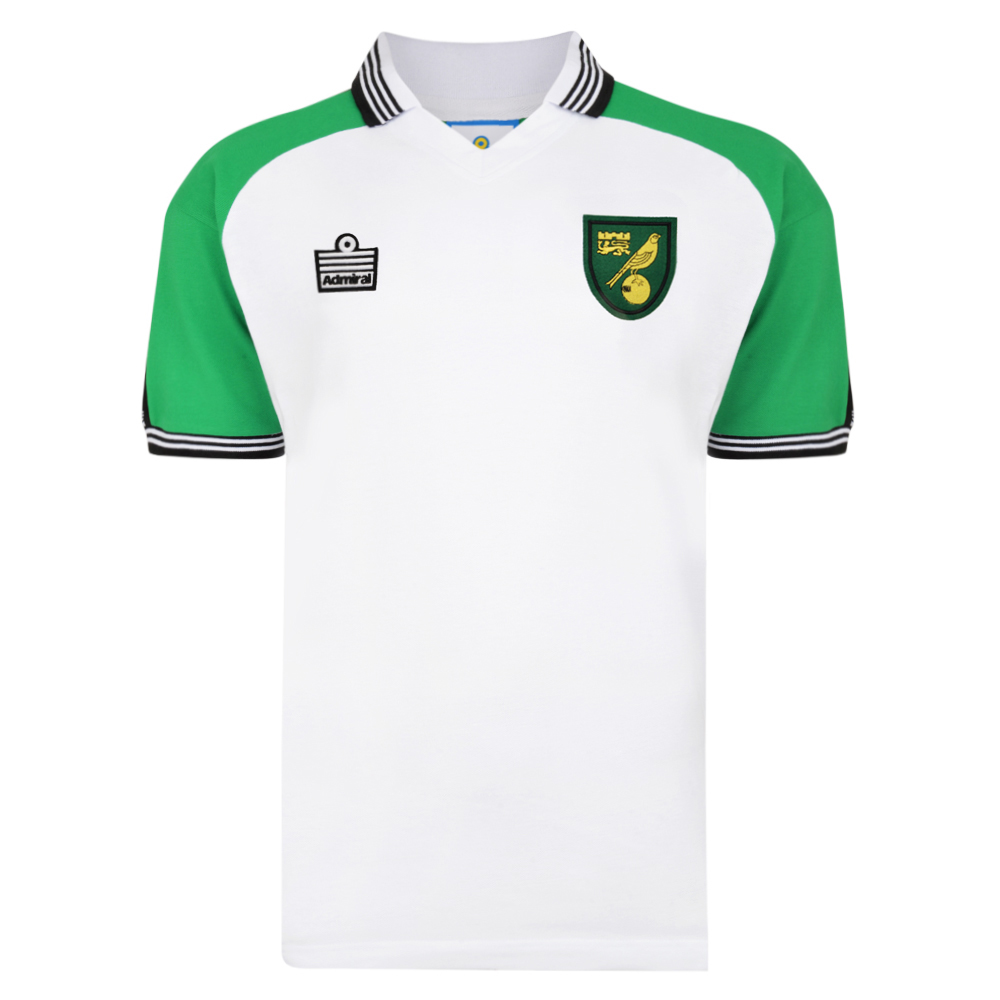 Norwich City Retro Visitante Camiseta