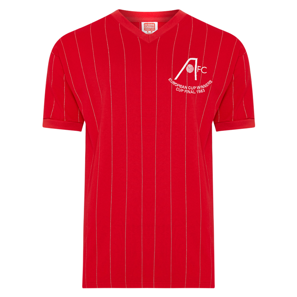 Aberdeen 1983 ECWC Final shirt