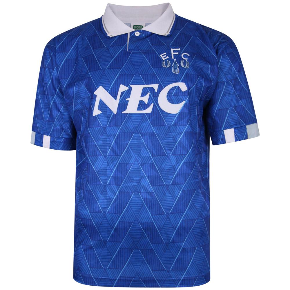 Everton Retro home shirt