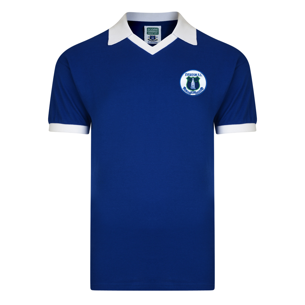 Everton 1978 Retro Football Shirt