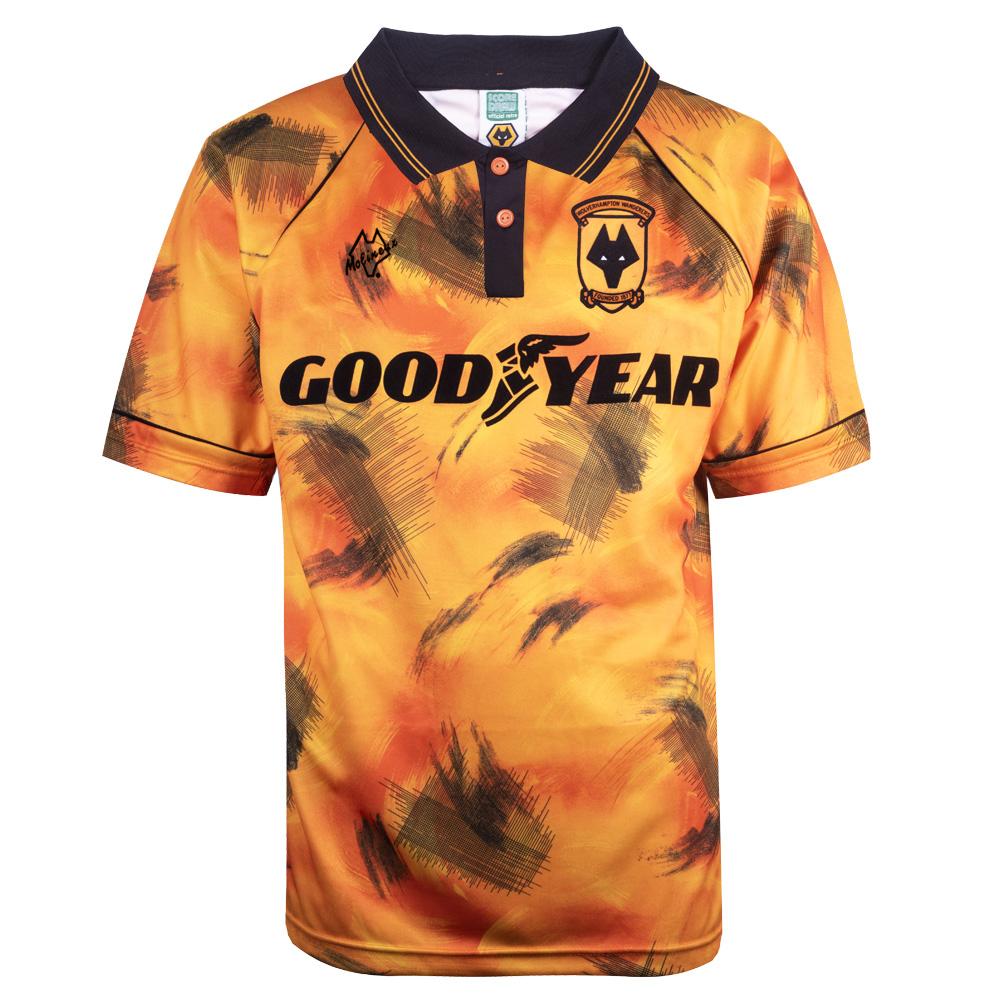 TOFFS Wolverhampton Wanderers Mid 1970s S//S Retro Football Shirt