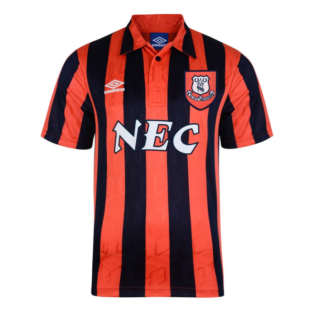 Buy Everton 1992 Away Umbro Retro Football Shirt  b1495a9f1