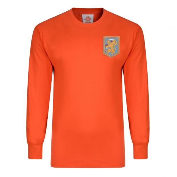 Holland 1968 Long Sleeve Retro Football Shirt