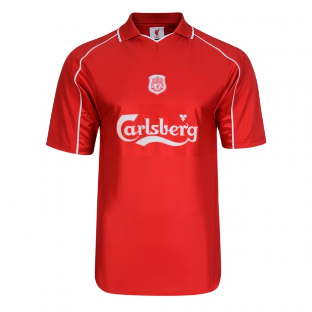 Liverpool FC 2000 Retro Football Shirt
