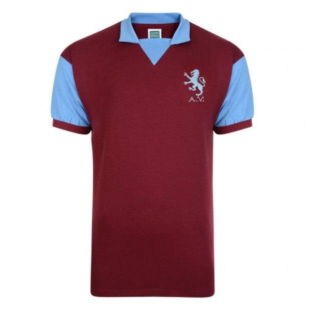 Aston Villa 1971 No8 Retro Football Shirt