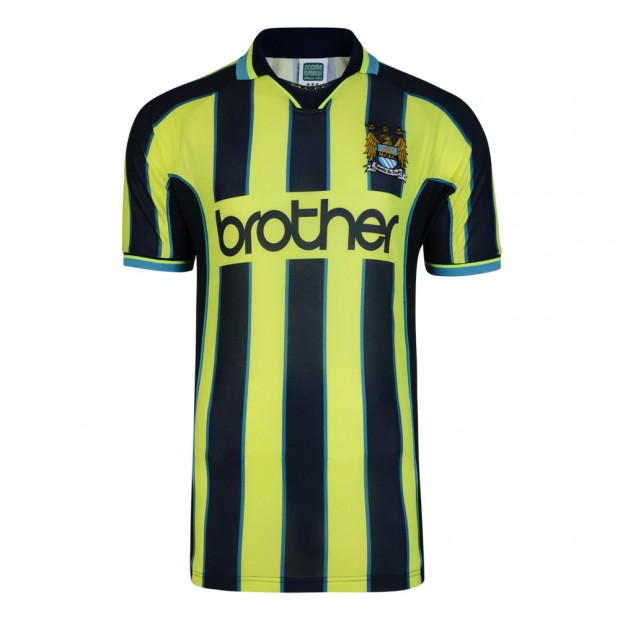 Manchester City 1999 Wembley Polyester Retro Shirt