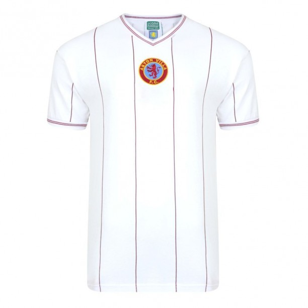 Aston Villa 1982 Away Retro Football Shirt