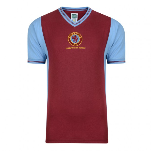 Aston Villa 1982 Champions of Europe Retro Shirt