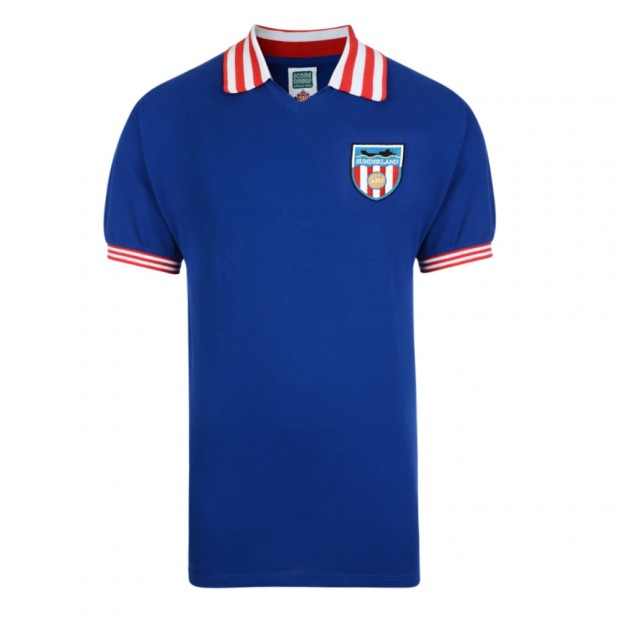 Sunderland 1978 Away Retro Football Shirt