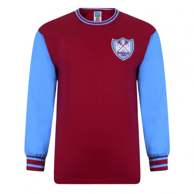 West Ham United 1964 FA Cup Final No6 Retro Shirt