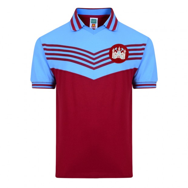 West Ham United 1976 Retro Football Shirt