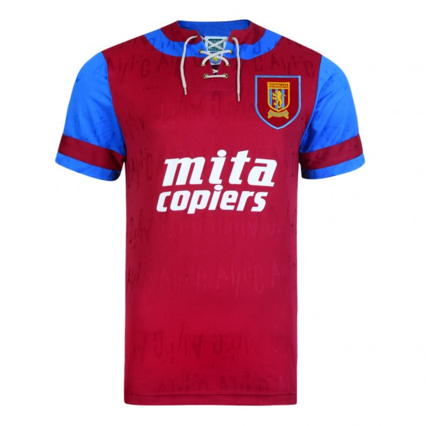Aston Villa 1992 Retro Football Shirt