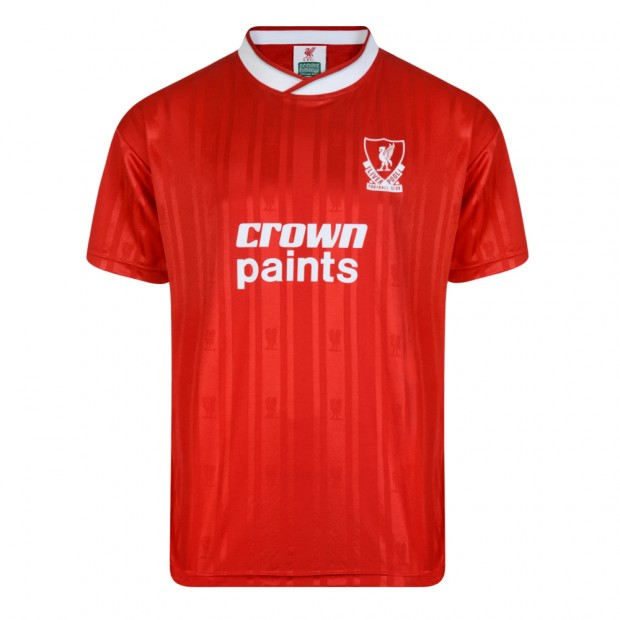 Liverpool FC 1987 Retro Football Shirt