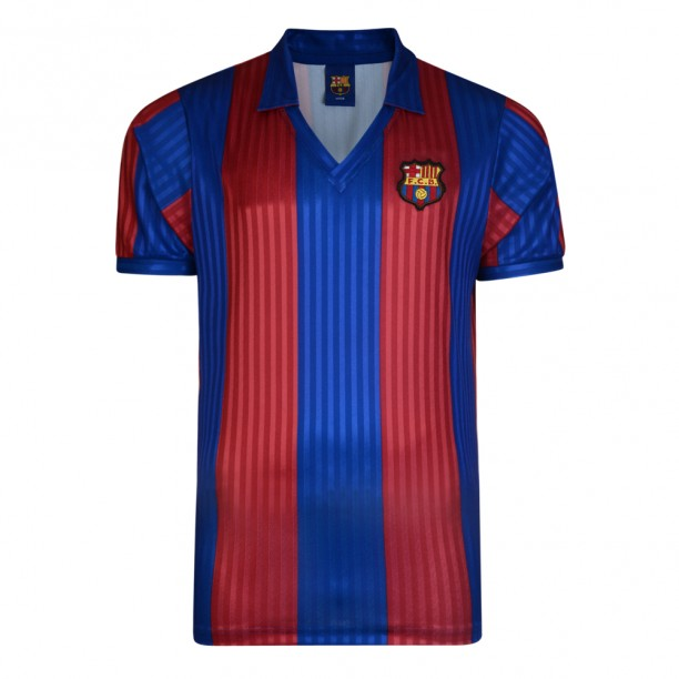 Barcelona 1992 Retro Football Shirt