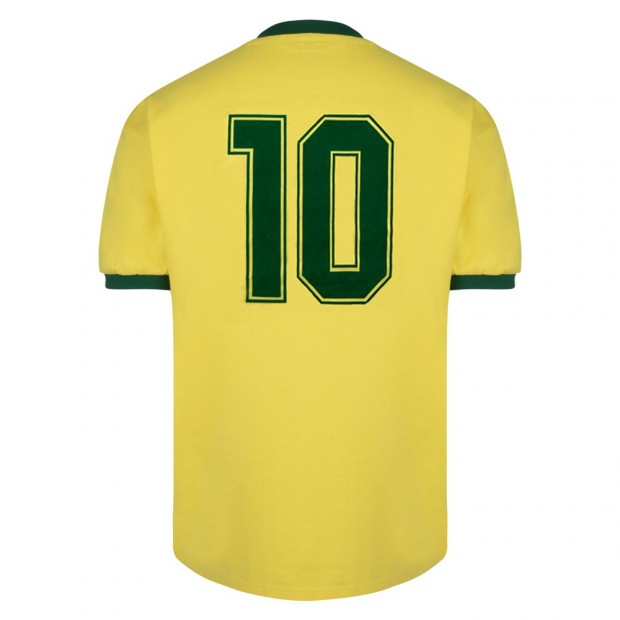 Brasil 1982 World Cup Finals No10 shirt