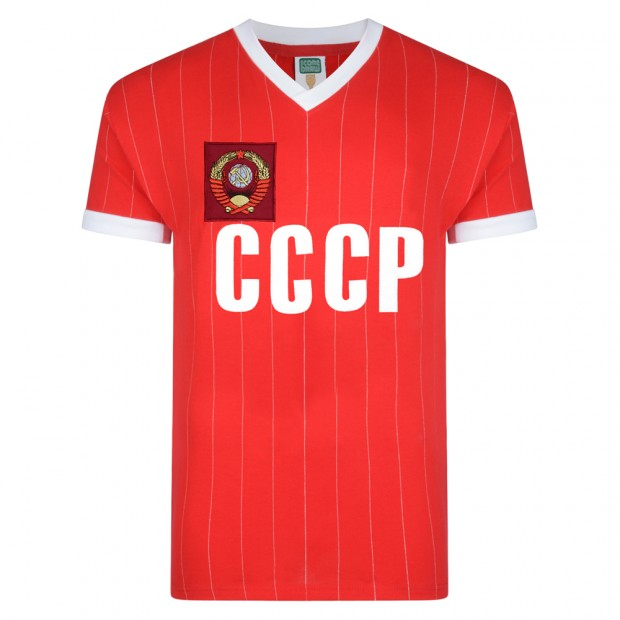 CCCP 1982 World Cup Finals shirt