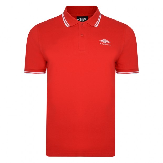 Umbro Choice of Champions Red Polo Shirt