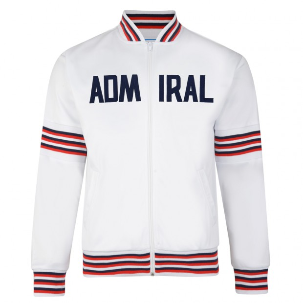 Admiral 1974 White England Track Jacket