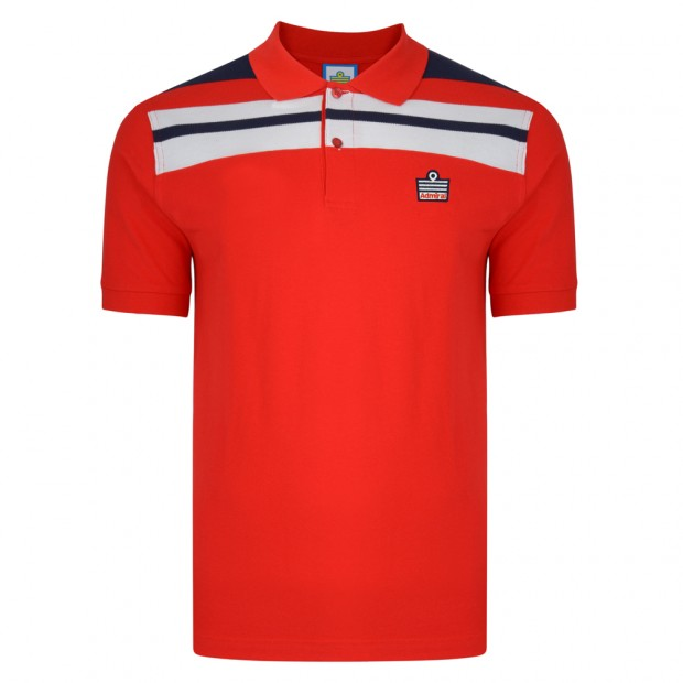 Admiral 1982 Red England Polo