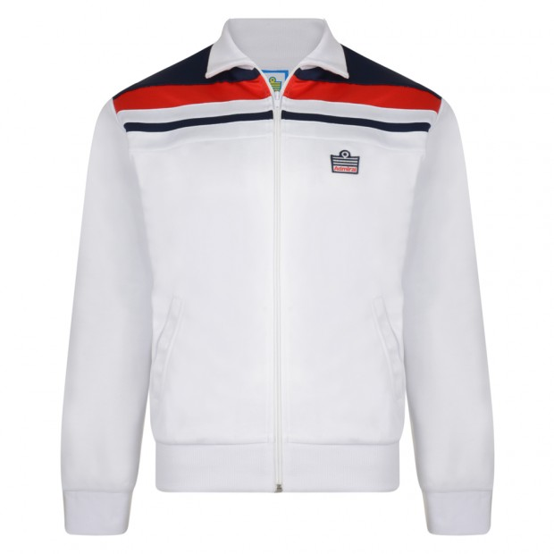 Admiral 1982 White England Track Jacket