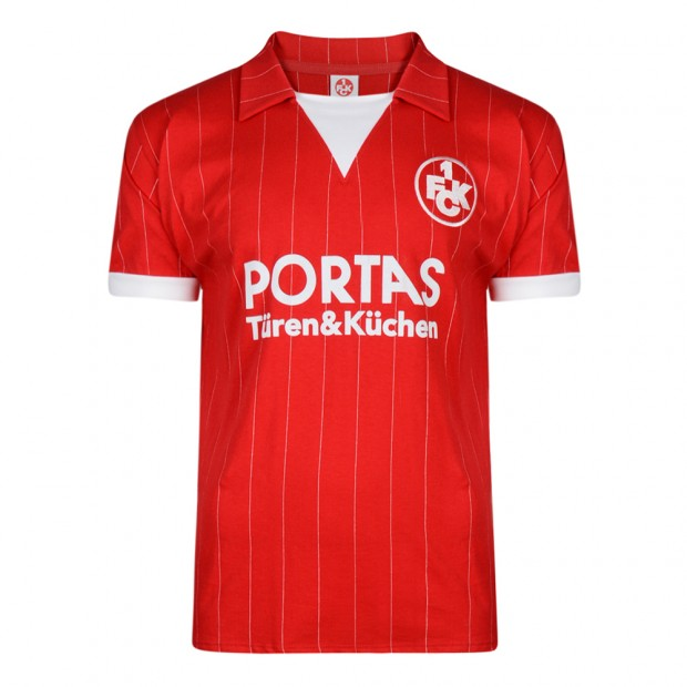 Kaiserslautern 1983 trikot Retro Football Shirt