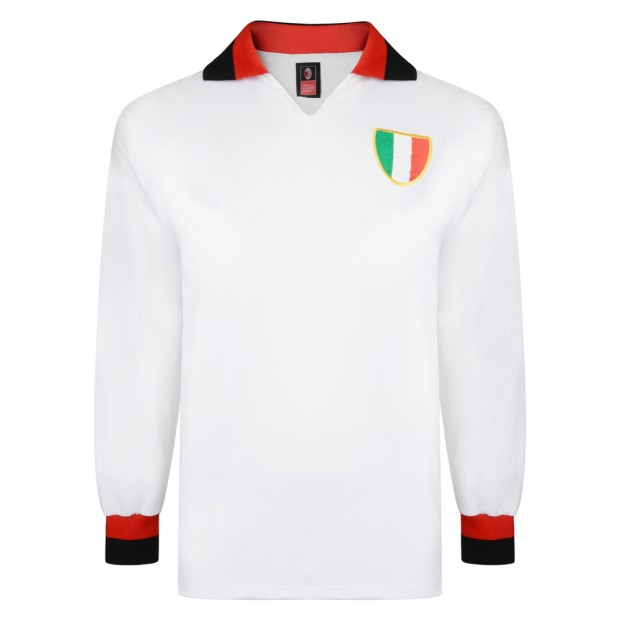 AC Milan 1963 European Cup Final Retro Shirt